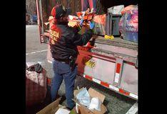 Policía incauta licores y cigarrillos por presunto delito de contrabando (FOTOS)