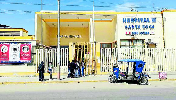 Piura: Hospital Santa Rosa necesita S/ 19 mlls para afrontar un rebrote de coronavirus