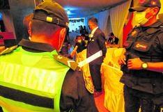 Novios e invitados son intervenidos dos veces el mismo día por celebrar boda en Huancayo