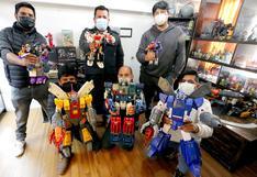Fanáticos de Transformers expondrán más de 500 robots y figuras en Cusco (VIDEO)