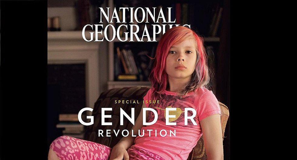 National Geographic: La polémica portada de una niña transgénero
