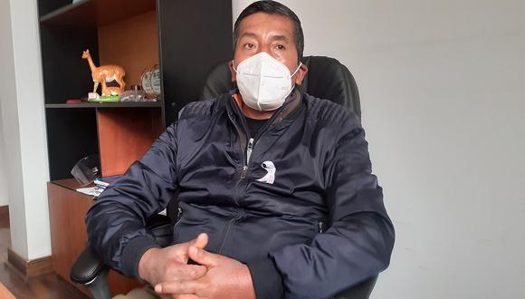 Gerente municipal de Comuna de Huancavelica pone su cargo a disposición
