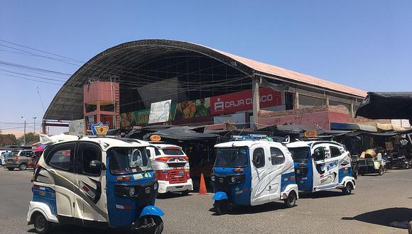 Mercado Santa Rosa es una bomba de tiempo por mototaxis