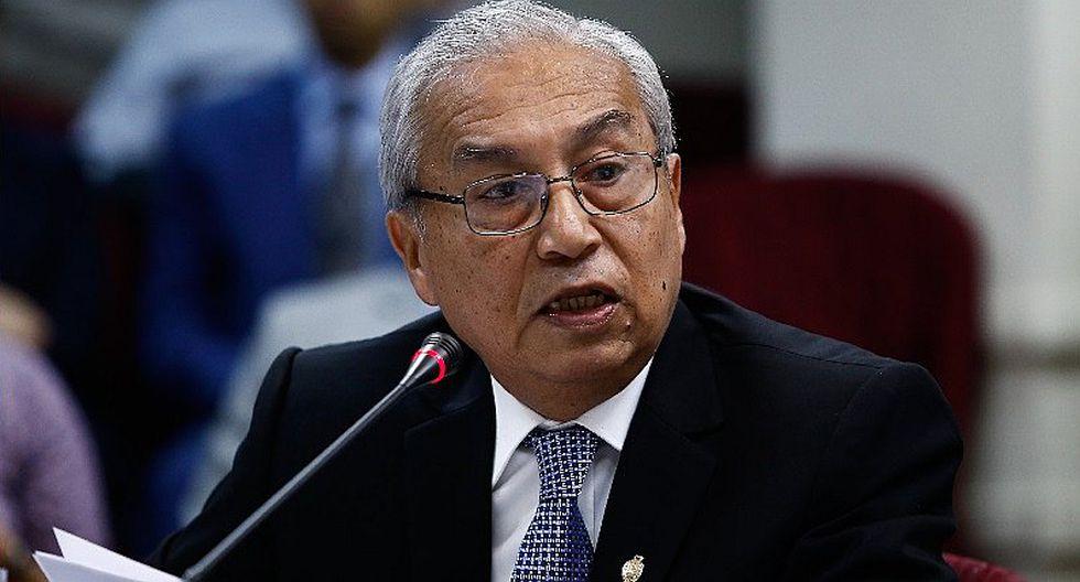 Pedro Chávarry: Fiscal solicitó suspensión de funciones del extitular del Ministerio Público