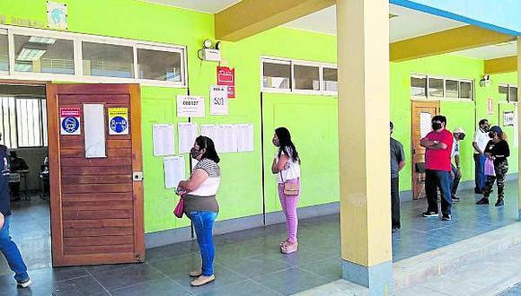 De 85 mil militantes hábiles en la región Lambayeque solo acudieron a votar 4292