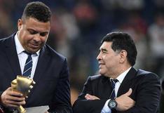 """Ronaldo Nazario recordó a Maradona: """"Diego cambió la vida de mucha gente"""""""