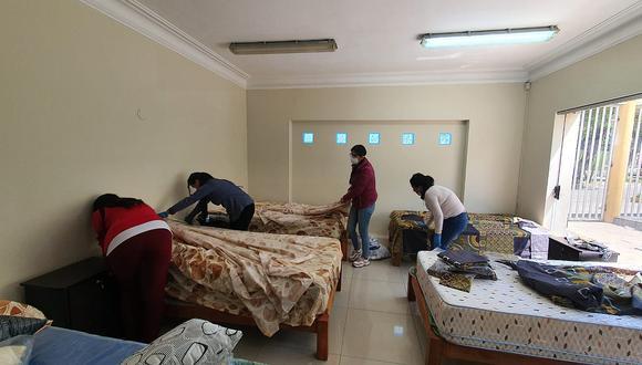 Adecúan edificio para personas sin techo en Arequipa