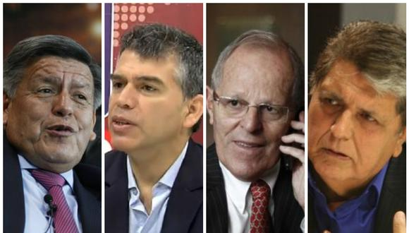 César Acuña y Julio Guzmán trepan, Pedro Pablo Kuczynski cae y Alan García se estanca