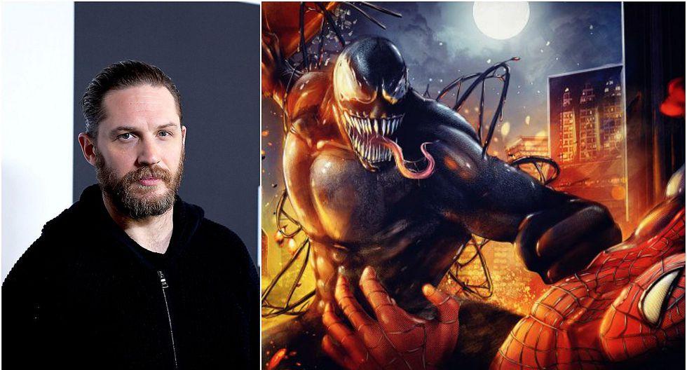 Tom Hardy será Venom, el gran enemigo de Spider-Man