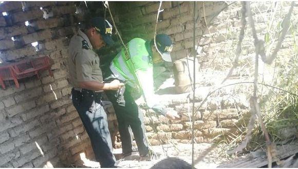 Hallan cadáver de un hombre en una vivienda rústica de Virú