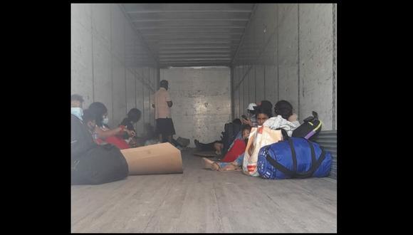 Áncash: el viaje fue frustrado y se evitó exponer la vida y salud de los pasajeros. (Foto: Seguridad Ciudadana Chimbote)