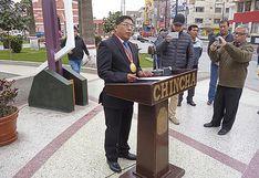 Concejo pide suspensión de alcalde de Chincha
