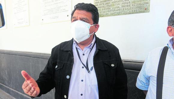 El dirigente del Sutep, Adolfo Quispe, está vigilante a los cambios que habrá en el sector. (Foto: Correo)