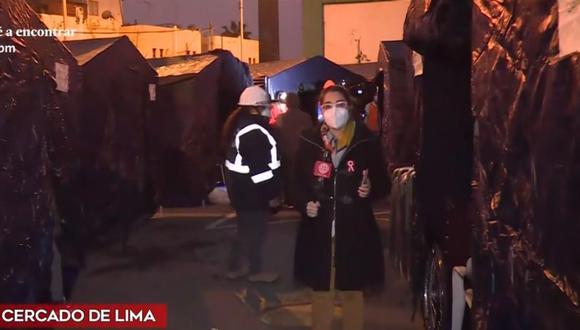 El número de carpas se incrementará debido a que algunas familias afectadas por incendio están conformadas por un mayor número de integrantes. (Captura: América Noticias)