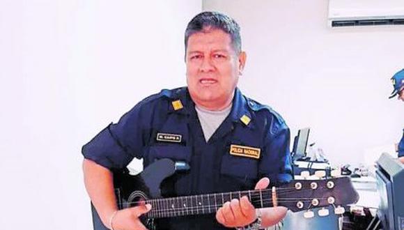 Manuel Caipo Pastor prestaba servicio en la oficina de CEOPOL de la III Macro Región Policial La Libertad.