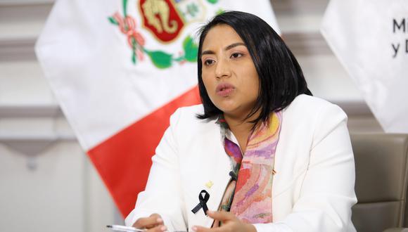 La ministra de Justicia, Ana Neyra, reveló que las diversas bancadas del Congreso le habían garantizado su apoyo al gabinete del primer ministro Pedro Cateriano.