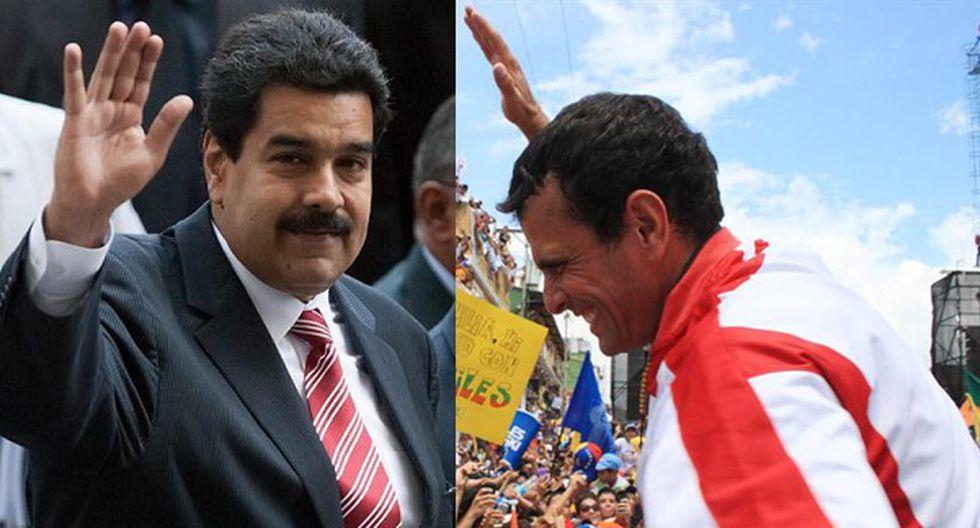 "Henrique Capriles acusa a Maduro de ser un ""vago"" que nunca trabajó"