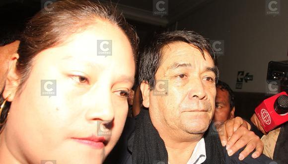 Excongresista Benicio Ríos fue internado en penal de Cusco (FOTOS)