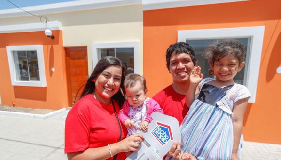 Este año, el programa Techo Propio espera beneficiar a 51.000 familias a través de sus tres principales productos: adquisición de vivienda nueva, construcción en sitio propio y mejoramiento de vivienda (Foto: Andina)