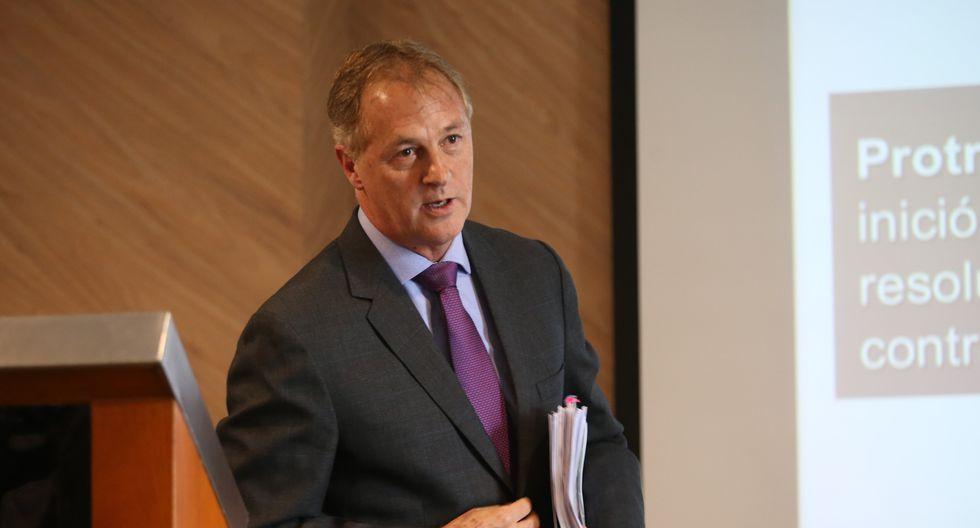 Alcalde Jorge Muñoz declara ante el Ministerio Público en el marco de las investigaciones por la tragedia en Villa El Salvador. (Foto: GEC)