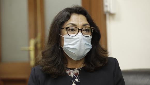 Violeta Bermúdez dijo que el Gobierno espera que la medida solo dure 15 días. . Foto: GEC