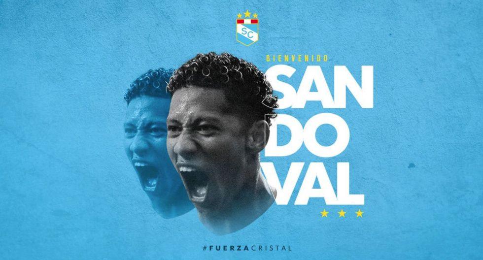 Ray Sandoval asume su segunda etapa como futbolista celeste. (Foto: Sporting Cristal)