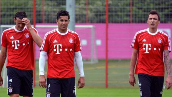 Claudio Pizarro entrenó bajo las órdenes del Pep Guardiola