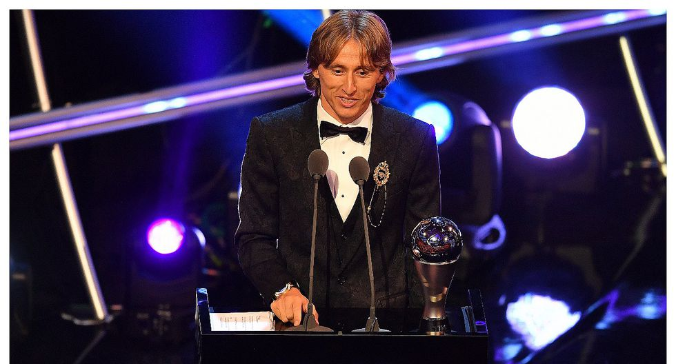 Luka Modric ganó el premio The Best que otorga la FIFA