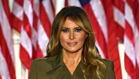 Melania Trump rompió una tradición no escrita entre las primeras damas al no invitar a Jill Biden a la Casa Blanca. (Foto: Brendan Smialowski / AFP)