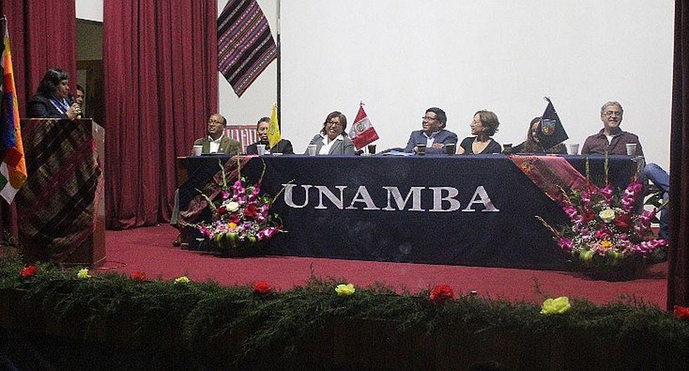 Ier Congreso Internacional de Literaturas y Culturas Andinas en Abancay