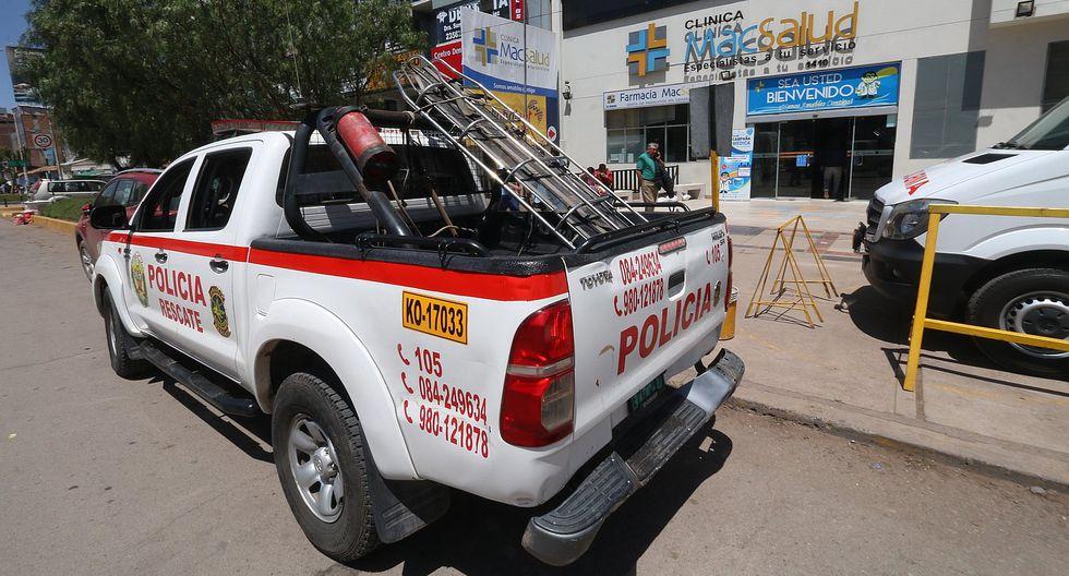 Accidente en Sacsayhuamán deja varios turistas heridos (FOTOS)