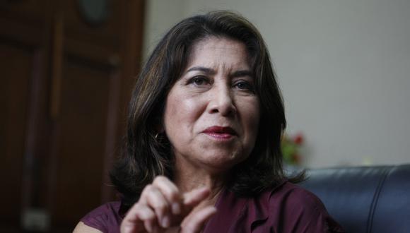 """García cuestionó a Chávez Cossío llamándola """"defensora de empresas"""". En respuesta, exlegisladora de Fuerza Popular le recordó sus dos DNI. (Foto de Martha Chávez: GEC)"""
