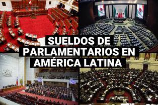¿Sabes cuál es el país donde más ganan los congresistas en Latinoamérica?