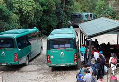 Declarar como 'vía saturada' carretera a Machu Picchu sería inviable