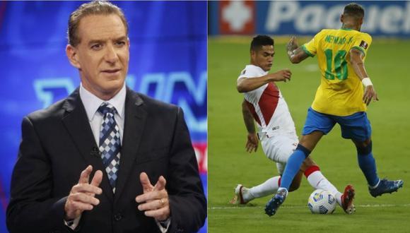 Eddie Fleischman criticó al defensa de la selección peruana Anderson Santamaría. | Foto: Composición GEC.