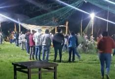 Ayacucho: Intervienen a 150 personas que participaban en 'yunsa Covid'
