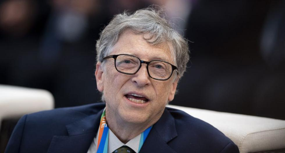 El fundador de Microsoft, Bill Gates, asiste a un foro en la primera Exposición Internacional de Importaciones de China (CIIE) en Shanghái, el 5 de noviembre de 2018. (Matthew KNIGHT / AFP).