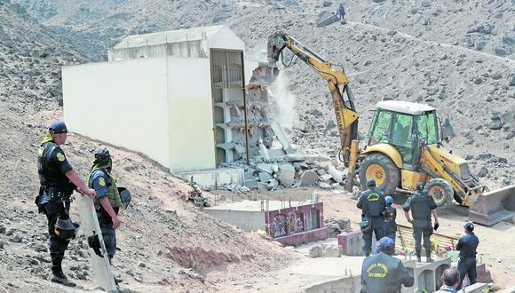Distrito del norte de Lima albergó un mausoleo de SL, según reveló Correo en 2016 (FOTO: LINO CHIPANA OBREGÓN/GEC)
