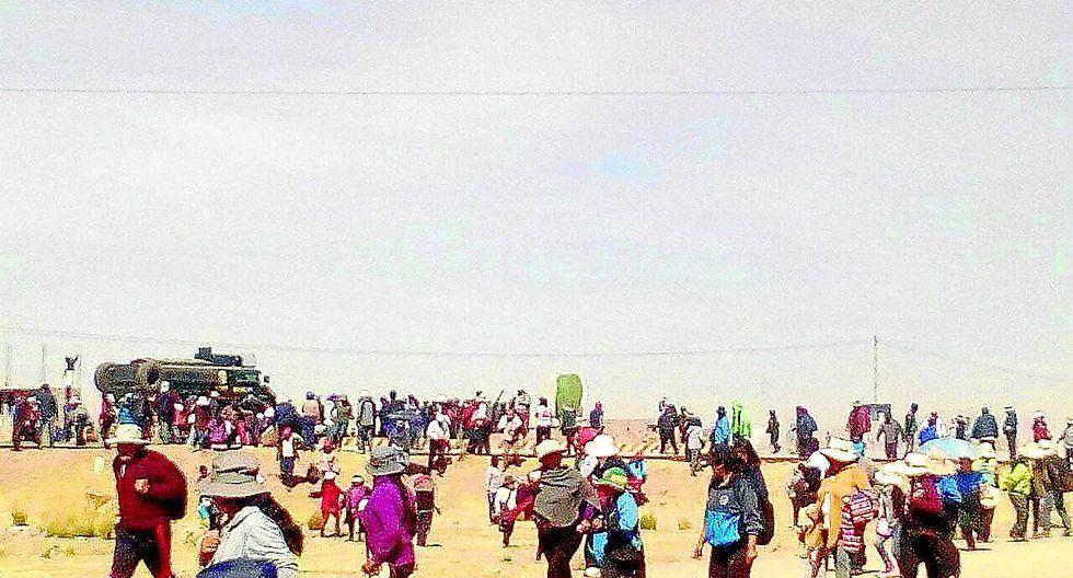 Agremiados del Sutep retan el estado de emergencia