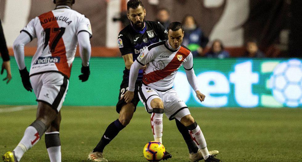 Rayo Vallecano de Luis Advíncula perdió 2-1 ante Leganés