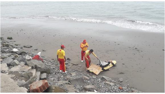 Barranco: hallan cuerpo de surfista en la playa Los Yuyos (FOTO)