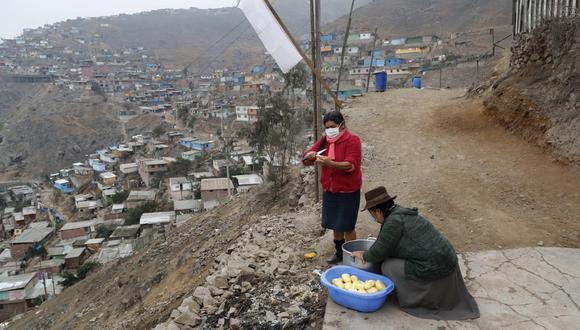 Casi el 50% de empleos en Lima Metropolitana se perdieron a mediados de 2020. (Foto: EFE)