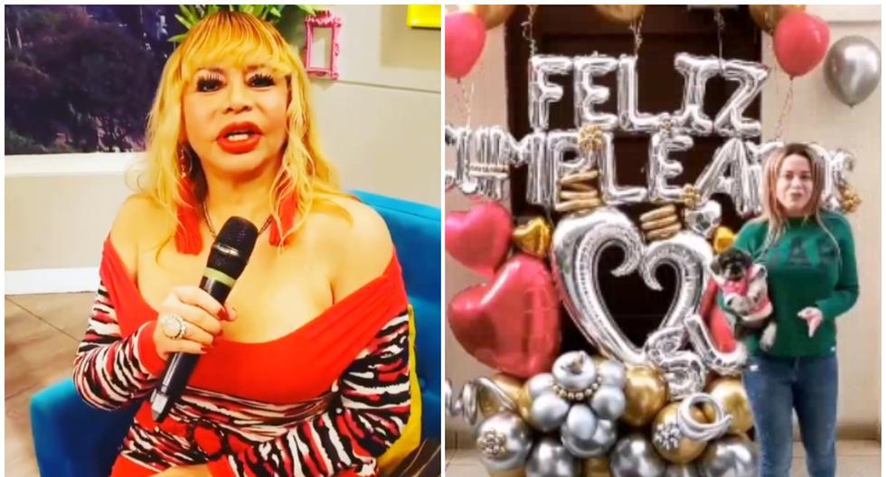 Florcita Polo sorprende a su madre en el día de su cumpleaños (VIDEO)