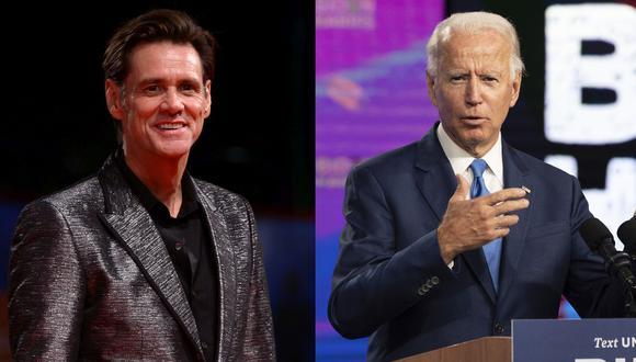 """Jim Carrey interpretará a Joe Biden en """"Saturday Night Live"""". (Foto: AFP)"""