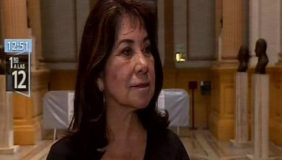 Martha Chávez: La no reelección es un capricho de Vizcarra
