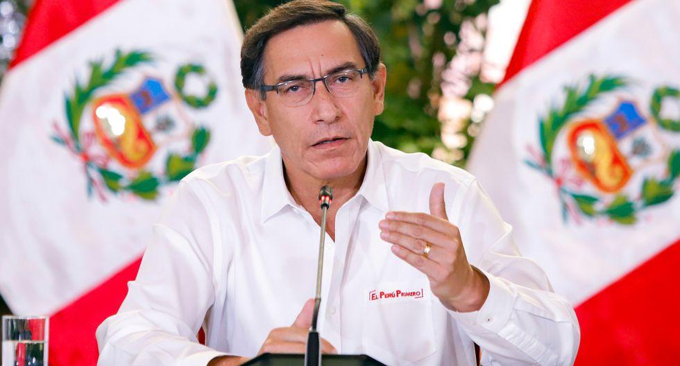 Martín Vizcarra EN VIVO en conferencia de prensa HOY lunes 06 de abril
