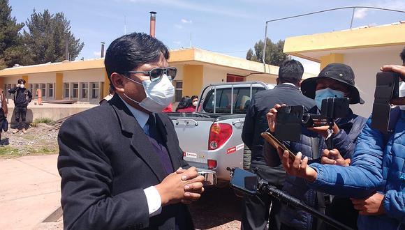 Gobernador regional de Puno anuncia que no pedirá licencia