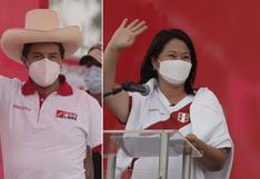 Resultados ONPE EN VIVO: Diferencia entre Pedro Castillo y Keiko Fujimori es de 62,025 votos