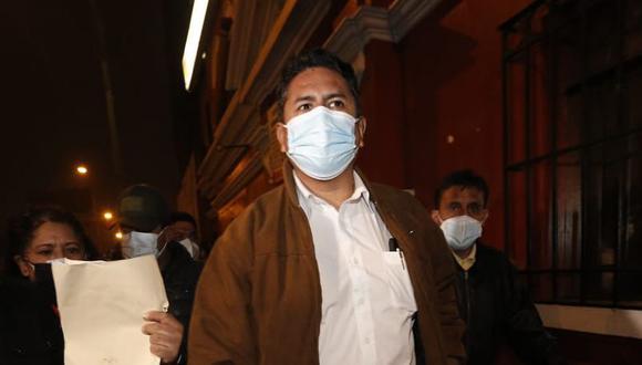 """También dijo que si el Gobierno de Pedro Castillo """"se desvía"""" del objetivo de la Asamblea Constituyente, Perú Libre debe """"rectificar la vía"""". (Foto: GEC)"""