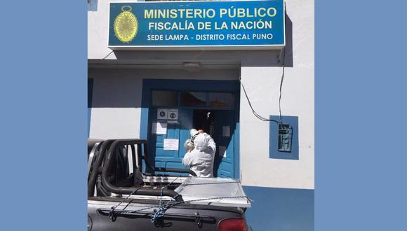 La fiscal adjunta de Lampa, Tania Velazco Paredes, manifestó que los hechos ocurrieron el pasado 15 de noviembre.